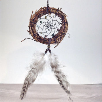 Jasper Grapevine Dream Catcher Mini