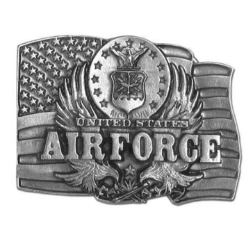 Sports Jewelry & AccessoriesSports Accessories - Air Force Antiqued Belt Buckle