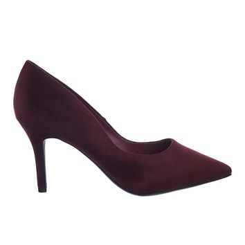 Libby Extra Comfortable Foam Padded Cushion Pointed Toe High Heel Dress Pump