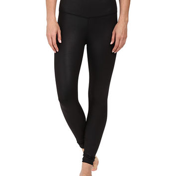 ALO High Waist Airbrushed Leggings Black Glossy - Zappos.com Free Shipping BOTH Ways