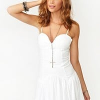 Stranded Sweetheart Dress