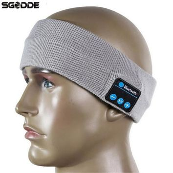 High Quality Bluetooth Sports Sweat Headband Wireless Anti-sweat