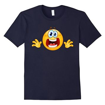 Emoji Shirt Panic Emoticon Tee