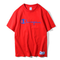 Champion Hot Sale Embroidery (4-color) Tee shirt top Red