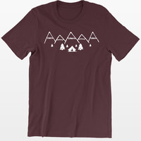 Mountains and Camping T-Shirt
