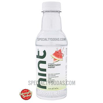 Hint Watermelon Water 16oz Plastic Bottle