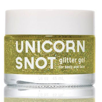 Unicorn Snot Glitter Gel for Body and Face - Gold 1.7oz 50g