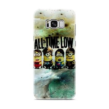 All Time Low Minion Drawing Samsung Galaxy S8 | Galaxy S8 Plus Case
