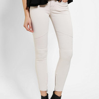BDG Moto Twig Mid-Rise Jean - Winter White - Urban Outfitters