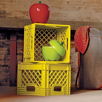 Milk Crate (Yellow) | The Land of Nod