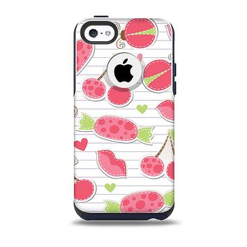 The Pink Treats N' Such Skin for the iPhone 5c OtterBox Commuter Case