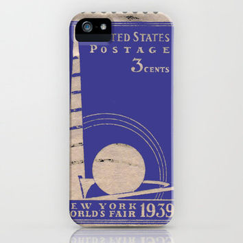 3 cents, New York World's Fair 1939 iPhone Case by Mad Dope | Society6
