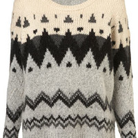 Petite Chunky Fairisle Jumper - New In This Week  - New In