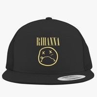 Nirvana By Rihanna Embroidered Trucker Hat