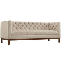 Panache Fabric Sofa Beige