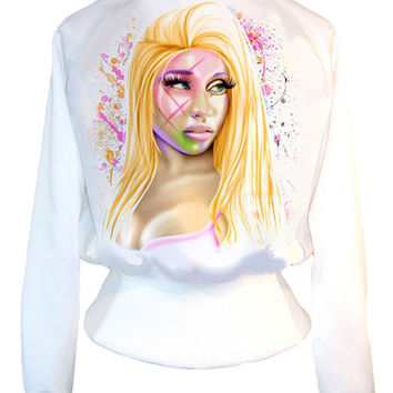 Nicki Minaj High Waist College Jacket