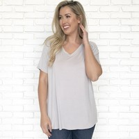 The Everyday Essential Tee in Grey