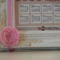 Pinky baby girly girl headband photo prop vintage by bonbonLand