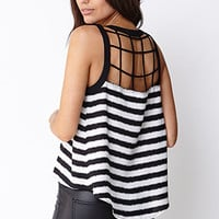 Modernist Striped Top