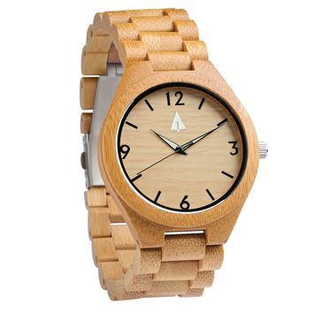 All Wood Watch // All Bamboo Nova