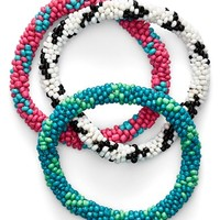 Women's Spring Street Stretch Bracelets (Set of 3)