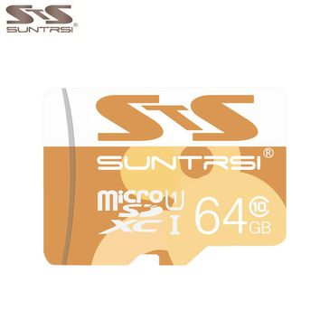Suntrsi Real Capacity Memory Card 64GB Micro Sd Card 32GB Class10 Microsd Card  High Speed for Phones MP3 Memory Card