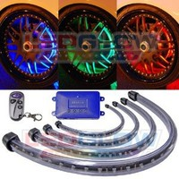 LEDGlow Million Color Flexible LED Wheel Well Kit