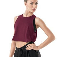 Sleeveless Cropped Tee - Urban Groove