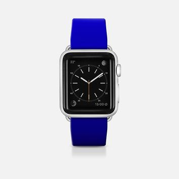Blue to black gradiant Apple Watch Band (42mm)  by WAMDESIGN | Casetify
