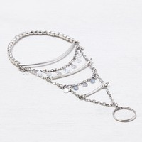 AEO Tiered Hand Jewelry , Silver | American Eagle Outfitters