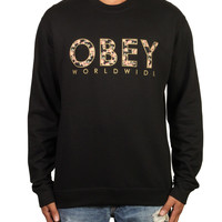 Obey - Floral Worldwide Crewneck Sweater