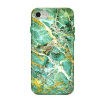 Green Emerald Marble iPhone Case