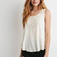 Crocheted Sleeveless Top