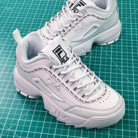 Fila Disruptor Ii 2 White Women's Sneakers Shoes - Best Online Sale
