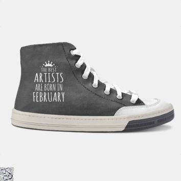 The Best Artists Are Born In February, Sewing Skate Shoe