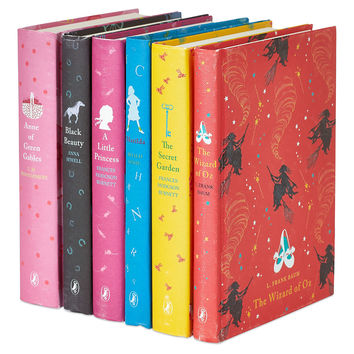 Girls Puffin Collection, Set of 6, Non-Fiction Books