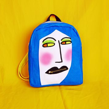 Gentle Thrills Face Backpack