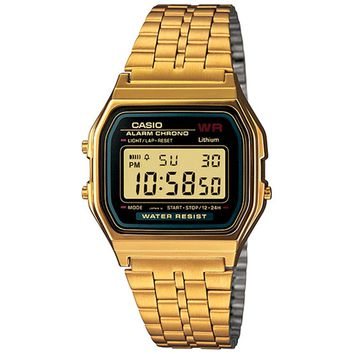 Vintage Collection Gold Digital Watch