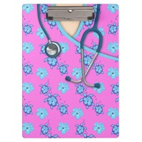 Turtles Flowers Pink Medical Scrubs