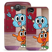 The Amazing World of Gumball Darwin and Gumball Phone Case for iPhone and Galaxy |