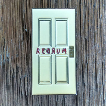 The REDRUM Door Lapel Pin