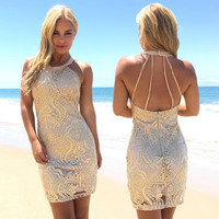 Golden Girl Sequin Dress