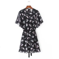 fashion ballet shoes print dress