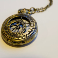 Stopwatch necklace