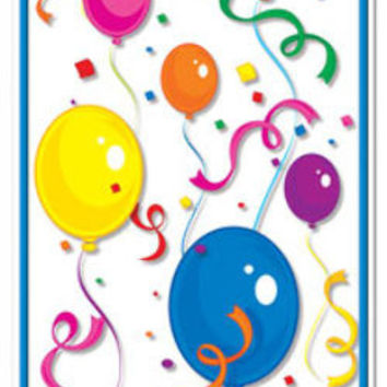 Balloons & Confetti Door Cover Case Pack 12