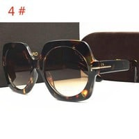 TOM FORD New fashion colorful metal sunglasses couple more styles glasses