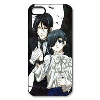 New Style Japanese Anime Series Black Butler iPhone 5 Case Black Butler iPhone 5 Cover