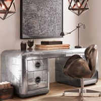 Blackhawk Trunk Desk | | Restoration Hardware