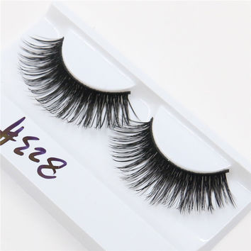 1 pair exaggerated thick fashion long fake eyelashes false eyelashes