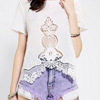 Urban Outfitters - Kimchi Blue Lola Lace Top